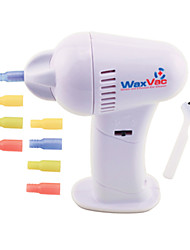 cheap -1Pc Cordless Safe Wax Vac Ear Cleaner Electric Earpick 8 Suction Heads