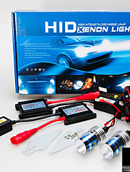 cheap -3200LM 12V 55W H7 AC Hid Xenon Conversion Kit 6000K