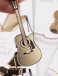 cheap -Guitar Shaped Stainless Steel Bookmark