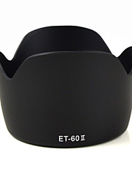 MENGS® ET-60 II Petal Shape Lens Hood For Canon EF 75-300MM F/4-5.6 III, EF-S 55-250MM F/4-5.6 IS