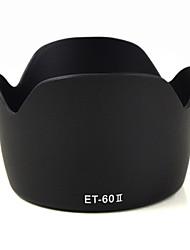 mengs® et-60 ii paraluce forma del petalo per Canon EF 75-300 mm f / 4-5,6 III, ef-s 55-250mm f / 4-5.6 IS