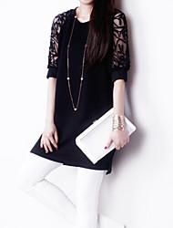 Недорогие -Жен. Изысканный и современный Платье - Кружева, Современный