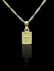 Homme Pendentif Croix Forme de Croix Métallique Métal Alliage Mode Bijoux Pour Quotidien Usage quotidien Plein Air