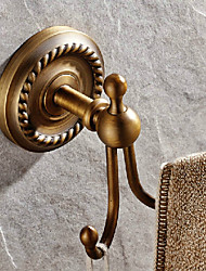Robe Hook / Antique Brass Brass /Antique