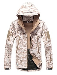 Недорогие -Камуфляжная куртка для охоты Универсальные Водонепроницаемость Ультрафиолетовая устойчивость Защита от пыли Дышащий камуфляж Классика