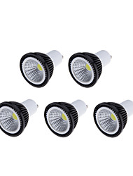 cheap -200-250 lm GU10 LED Spotlight MR16 1 leds COB Dimmable Warm White Cold White Natural White AC 110-130V AC 220-240V
