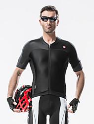 SANTIC Biciklistička majica Muškarci Kratkih rukava Bicikl Biciklistička majica Majice Odjeća za vožnju biciklom Ultraviolet Resistant