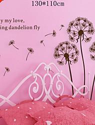 classico albero nero volare vite adesivo farfalla zooyoo695 decorativo della parete del PVC smontabile