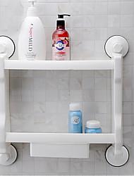 cheap -1pc High Quality Contemporary Plastic Bathroom Shelf Wall Mounted