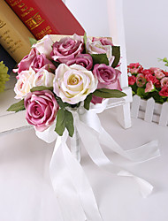 cheap -Rose Flower Bride Bridal Wedding Bouquets Accessaries Party Decor for Wedding