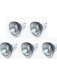GU10 LED Spotlight MR16 1 COB 450 lm Warm White Cold White Natural White K Dimmable AC 220-240 AC 110-130 V
