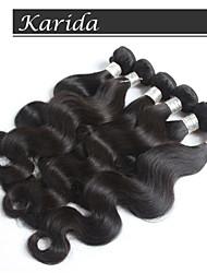 economico -3 pc / lotto vergine all'ingrosso corpo capelli peruviani dei capelli dell'onda del tessuto 12-30 pollici
