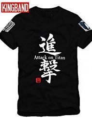 caratteri cinesi cip stile cinese gli uomini e le donne alla moda manica corta in cotone maglietta cip07