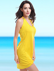 cheap -Free Shipping Fashion Designer Vintage Double Shoulder Straps V Neck Sexy Women Beachwear 2015