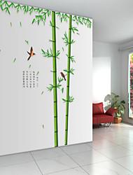 billige -Dyr Tegneserie Botanisk Vægklistermærker Fly vægklistermærker Dekorative Mur Klistermærker, Vinyl Hjem Dekoration Vægoverføringsbillede