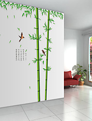 zidne naljepnice na zid naljepnice stil bambusa šumi dubinama PVC zidne naljepnice
