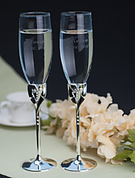 Personalized Toasting Flutes Gay Marriage ---Tuxedo(Set of 2)
