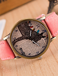 cheap -Reloj Mujer Colorful Jeans Band Relogio Masculino Clock Brand  Watches   Antique Quartz Watch For Man And Women