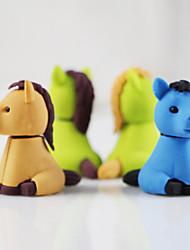 Little Horses Assemble Rubber Eraser (Random Color)