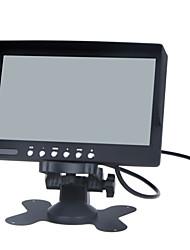 Недорогие -7-дюймовый ЖК-монитор цвета / двухстороннее видео вход, один способ аудио вход