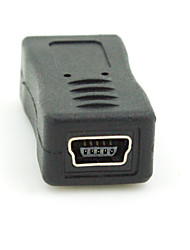 cheap -Micro USB 2.0 Male to Mini USB 2.0 Female Converter Connector Plug Adapter
