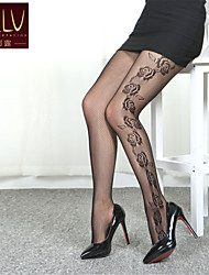 cheap -Women's Thin Pantyhose-Jacquard