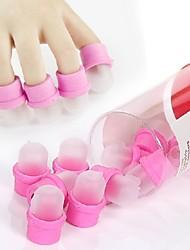 10stk neglelak gel fjerne beskyttelsen søm kunst værktøjer