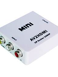 mini av al convertitore hdmi
