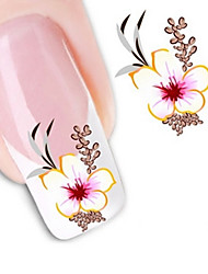 Water Transfer Printing Nail Stickers N0.1551