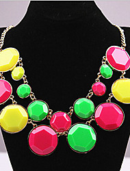 cheap -New Arrival Fashional Hot Sellign Geometric Gem Necklace