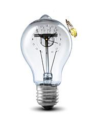 Modern/Contemporary Houses 3D Wall Clock Bulb  Indoor Clock