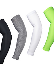 cheap -Sleeves Bike Breathable Thermal / Warm Quick Dry Ultraviolet Resistant Compression Anti-skidding/Non-Skid/Antiskid Limits Bacteria Unisex