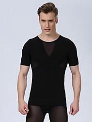 Недорогие -сексуальные мужчины корсет мужчин тонкий корпус формирователь талии живота рубашка тренажерный зал бак белье для похудения тренажерный зал
