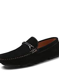 billige -Læder Ruskind-Komfort Flade balletsko-Herrer--Udendørs Fritid-Flad hæl