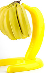 Plastic Banana Shape Banana Hook Holder Free Standing Rack Kitchen Food Storage