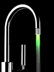 lavandino della cucina led verde ugello rubinetto rubinetto