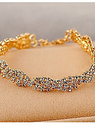 cheap -Delicate Claw Chain Crystals Bracelet Classical Feminine Style