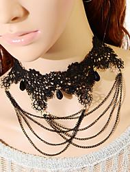 Недорогие -старинные готические цепи ожерелье