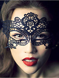 cheap -Handmade Lace Mask for Party Holloween Birthday Wedding Elegant Style