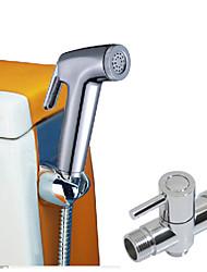 Недорогие -современный centerset одно отверстие одной ручкой одно отверстие хром, смесители для раковины ванной комнаты смесители для ванны