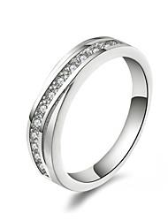"""preiswerte -xu ™ Damenring aus 925er Silber mit Diamanten """"klassisch feminin"""""""