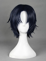cheap -Cosplay Wigs Seraph of the End Cosplay Anime Cosplay Wigs 32 CM Heat Resistant Fiber Men's Women's