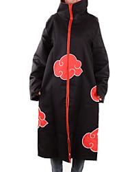 preiswerte -Inspiriert von Naruto Akatsuki Anime Cosplay Kostüme Cosplay Tops / Bottoms Druck Langarm Umhang Für Mann