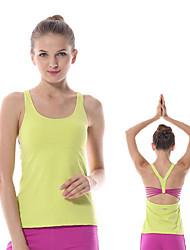 abordables -yokaland fa / WT14 unique de conception arrière de la sangle réservoir haut de yoga extensible