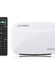 cheap -EMISH X700 Quad-Core RK3128 Android 4.4 Smart TV BOX  1G/8G, XBMC,Netflix,Youtube,Facebook,Skype
