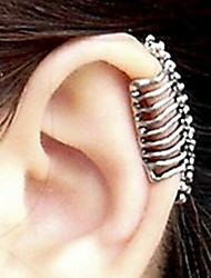 cheap -Punk Skull Spine Without Hole Ear Cuffs