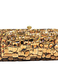 cheap -Women's Bags PU Evening Bag Charm for Event/Party All Seasons Gold Pink