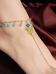 cheap -Anklet - Cross European, Simple Style Golden Hamsa Hand For Daily Casual Women's
