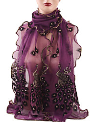 Chic Colorful Chiffon Scarve...