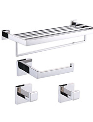 cheap -Bathroom Accessory Set / Stainless Steel Stainless Steel /Contemporary